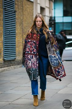 15 x 20 Street Style Blog, Street Style 2017, Street Chic, Stylish Outfits, Fashion Outfits, Style Fashion, Flannel Lined Jeans, Street Looks, Weather Wear