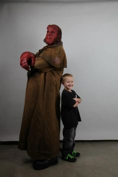 Ron Perlman Puts on the Hellboy Make-Up Again for the Make-A-Wish Foundation.