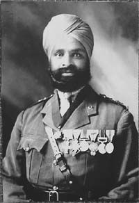 Subedar Major Thakur Singh