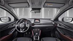 Mazda CX-3 front interior