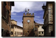 Montepulciano, I miss this so much! The street I lived off of :(