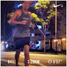 Goal! Barry is running  #barryisrunning  #run #runsg #nikeplus #nikerun #nikeplusrun  #runhappy #sgrunners #runnerscommunity #runnerinspiration #runforabettertomorrow  #correr #Corrida #instarunner #iphonerunner #iphoneonly #marathontraining #wearetherunners #worlderunners  #loverunning  #plantarfasciitis  #RunItFast #justrunlah