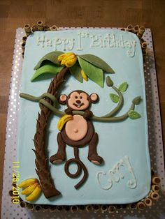 Cakes By Chris: Monkey Cake