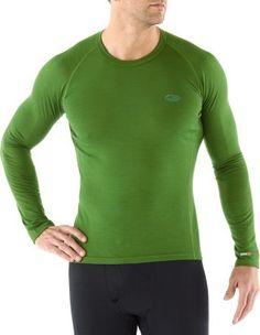 Icebreaker Bodyfit 200 Oasis Underwear Crew - Wool - Men\'s