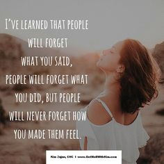 what will people remember about you?