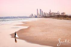 Gold Coast Beach Wedding Photo, Beach Wedding Photography