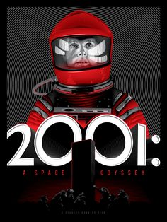 2001: A Space Odyssey by Tracey Ching