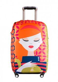 Capa para Mala Daphne, Luggio, Protetor de bagagem