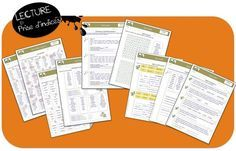 prise d'indices CM1 LECTURE C3 EXERCICES AUTO CORRECTIF Cycle 3, Teacher Organization, Inference, Teaching French, Interactive Notebooks, Guided Reading, Comprehension, Homeschool, Writing