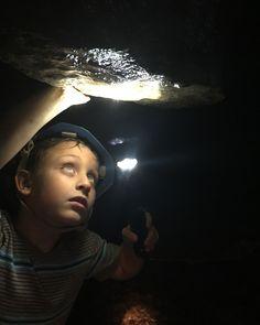 Rock Bridge Memorial State Park - exploring Connor's Cave - Columbia, Missouri