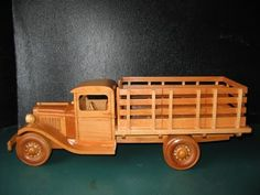 PATTERNS & KITS :: Trucks :: 82 - 1929 Ford Stake Bed -