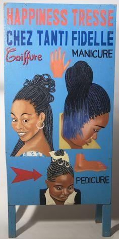 Togo - Enseigne coiffure