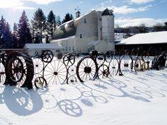 wheel/gear fence