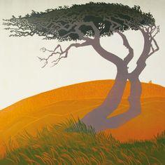 'Hawthorn' By Carol Lander.  Blank Art Cards By Green Pebble.