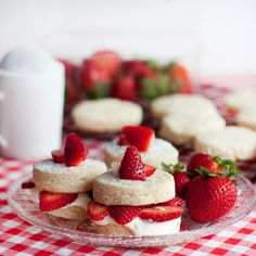 Sprinkle Charms: Strawberry Shortcake