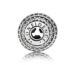PANDORA ESSENCE CONFIDENCE Charm 796022CZ *I will get the bracelet and this charm after earning my first $1,000!*