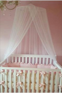 1000 ideas about canopy over crib on pinterest nursery for Diy canopy over crib
