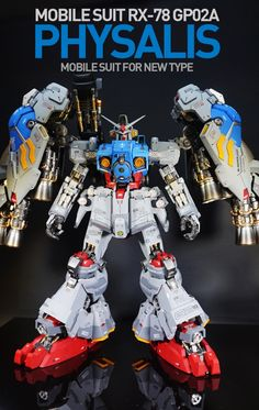 G-System 1/60 RX-78 GP02A Gundam Physalis - Painted Build Modeled by  hoonisee
