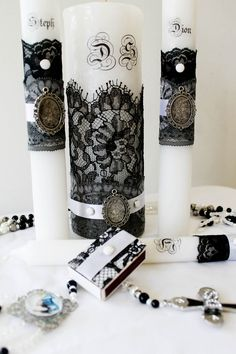 Diy Candles Ideas : black and white theme, cheap wedding ideas, wedding on a budget, wedding plann... https://diypick.com/decoration/decorative-objects/candles/diy-candles-ideas-black-and-white-theme-cheap-wedding-ideas-wedding-on-a-budget-wedding-plann/