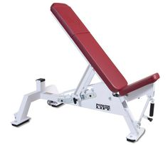 Dumbbell Bench in Red