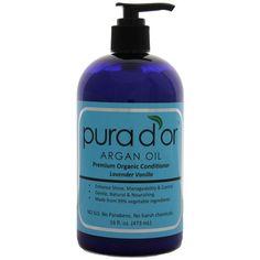 Pura d'or: Premium Organic Argan oil Conditioner for Hair (16 fl. oz.) | shopswell