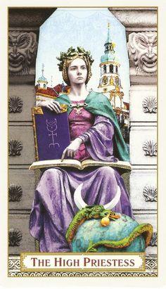 Tarot of Prague -- If you love Tarot, visit me at www.WhiteRabbitTarot.com
