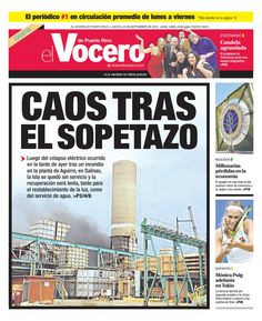 Edición 22 de Septiembre 2016  El Vocero de Puerto Rico