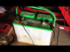 Lead Acid Battery Desulfation Using Epsom Salt -After Overnight Full Charge Part 4 of 6 - YouTube