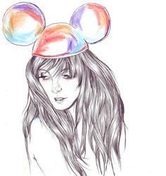 Mickey's girl