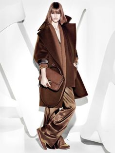 Ashleigh Good Stars in Max Mara Fall 2013 Campaign by Mario Sorrenti | Fashion Gone Rogue: The Latest in Editorials and Campaigns
