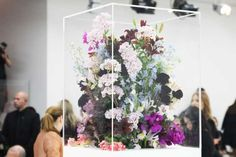 Floral Installments by florist Marc Colle for Jil Sander Fall 2012 RTW