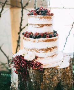 Witney and Carson's winter wonderland themed wedding.