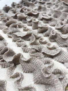 Pattern texture ruffle ..