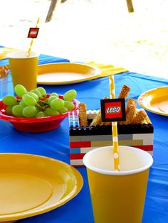Lego straws