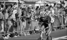 Jens Voigt on the attack by kristof ramon, via Flickr. Tour de France 2012, stage 20