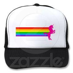 fd4c26037079c Corey Tiger 80s Retro Vintage Rainbow Unicorn Trucker Hat
