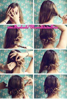 Uñas y peinados: Recogido!