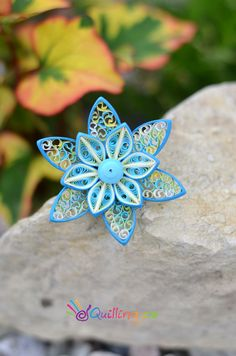 Quilling flower www.quilling.cz