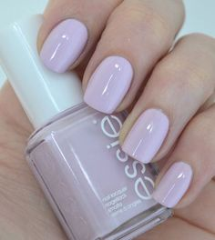 Shinny lilac nail polish #nail #nails