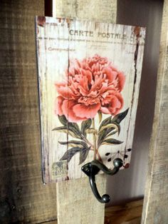 Arte Pallet, Pallet Art, Pinterest Room Decor, Creative Arts And Crafts, Pintura Country, Diy Signs, Shabby Chic Decor, Cool Diy, Wood Pallets
