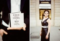 Anna! You need to go to the website and check out this Chanel inspired wedding shoot.