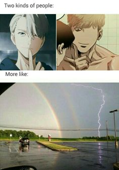 True. Victor is the rainbow and Sangewoo is the freaking lightning! ~Bunny