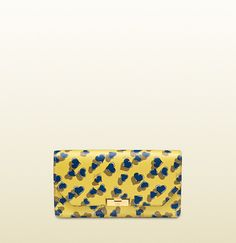 Gucci 58 Heartbeat Print Leather Clutch on shopstyle.com