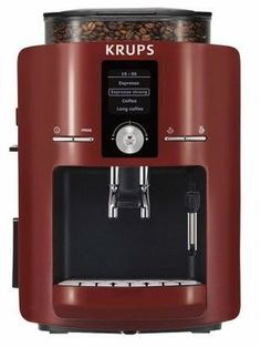 Krups Espresseria Red Automatic Espresso Machine Krups