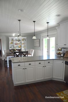 Kitchen Tour Updated Kitchen Dining Area Combo Remodel Kitchen