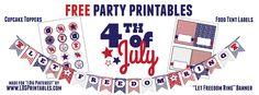I Dig Pinterest: Free 4th of July Printables!!