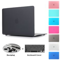 7.19$  Watch now - Crystal Clear Matte Rubberized Hard Case Cover for Macbook Pro 13.3 15.4 Pro Retina 12 13 15 inch Macbook Air 11 13 Laptop Shell   #shopstyle
