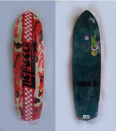 "Shape Skate Krooked Zig Zager Maple 8,6 X33"" - custom skates"