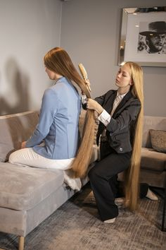 Casual Hairstyles, Party Hairstyles, Down Hairstyles, Wedding Hairstyles, Braided Hairstyles Tutorials, Hair Tutorials, Women Haircuts Long, Hair Color Highlights, Super Long Hair