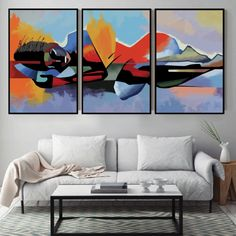 Give any open wall in your home a tasteful touch of glamour with this painting print. This canvas showcases an abstract design of Buddha in red, blue and orange tones. Abstract Canvas, Canvas Art, Canvas Prints, Framed Art, Framed Prints, Wall Art, Canvas Frame, Painting Prints, Paintings